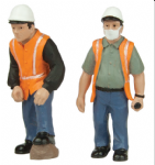 47-403 Scenecraft Lineside workers C (pack of 2 figures)